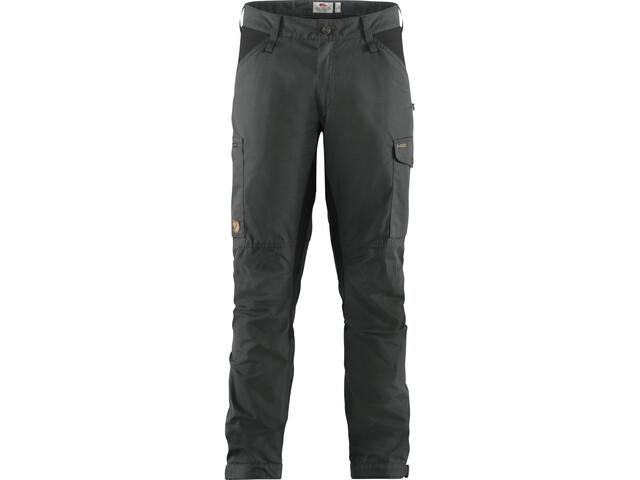 Fjällräven Kaipak Trousers Men dark grey/black